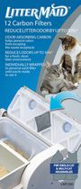 LitterMaid Litter Box Carbon Filters (12 Pack) LM680C