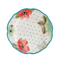 The Pioneer Woman 10.5-inch Decorated Dinner Plate