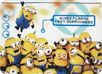 "Universal Studios Despicable Me Minions ""Hang in There"" Placemat"