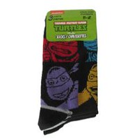 Teenage Mutant Ninja Turtles Boys' Crew Socks, Pack of 3 7-10