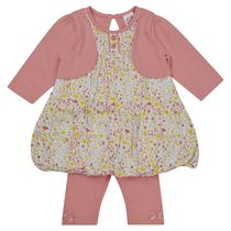 George British Design Baby Girls' Cluster Floral Puffball Set 12-18 months