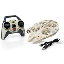 Star Wars Air Hogs Remote Control Ultimate Millennium Falcon Quadcopter Vehicle