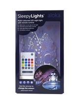 Veilleuses DEL Aloka Sleepy Lights Jungle aux couleurs multiples