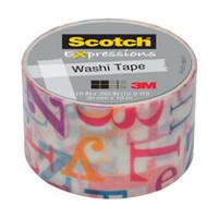 Scotch® Expressions Carnival Washi Tape
