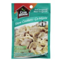 Club House Slow Cookers Beef Stroganoff