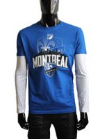 Major League Soccer Montreal Impact Men's Long Sleeve T-shirt XL