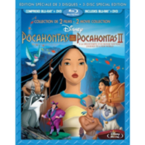 Pocahontas / Pocahontas II: Journey To A New World (3-Disc) (Special Edition) (Blu-ray + 2-Disc DVD) (Bilingual)