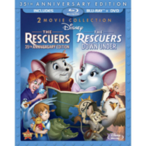 The Rescuers (35th Anniversary Edition) / The Rescuers Down Under (3-Disc) (Blu-ray + 2-Disc DVD)