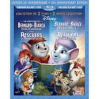 The Rescuers (35th Anniversary Edition) / The Rescuers Down Under (3-Disc) (Blu-ray + 2-Disc DVD) (Bilingual)