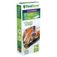 "FoodSaver Expandable 11"" X 16' Heat-Seal Roll"