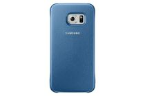 Samsung Galaxy S6 Fitted Hard Shell Case Blue