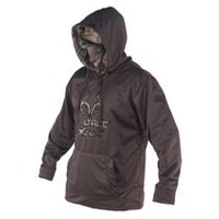 Realtree Men's Solid Hoody L