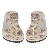 George Women's Floral Thong Slide Sandal 5