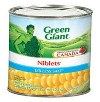 Green Giant Less Salt Canned Niblets Whole Kernel Corn