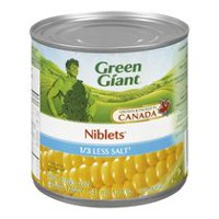 Green Giant Canned 1/3 Less Salt Whole Kernel Corn Niblets
