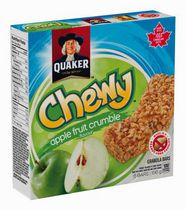 Quaker Chewy Apple Fruit Crumble Granola Bars