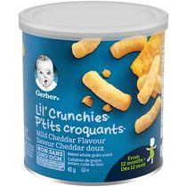 GERBER® P'TITS CROQUANTS(MD) Cheddar doux, coll. pour tout-petits 42 g