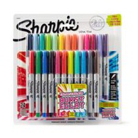 Sharpie® Assorted Ultra-Fine Point Colour Burst Permanent Markers