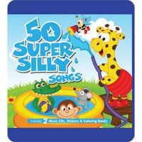 The Little Sunshine Kids - 50 Super Silly Songs (2CD + Livret d'activités)
