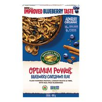 Nature's Path Organic Optimum Power Blueberry Cinnamon Flax Cereal