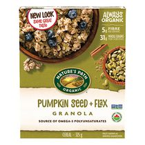 Nature's Path Organic Flax Plus Pumpkin Flax Granola