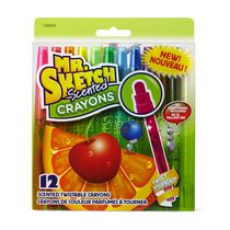 Mr. Sketch® Assorted Scented Twistable Crayons