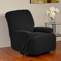 SureFit Dimples Stretch Recliner Slipcover