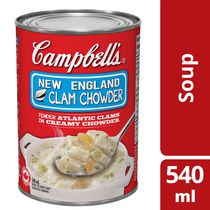 Campbell's Low Sodium New England Clam Chowder