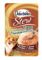 Delectables Stew Lickable Cat Treat - Chicken & Tuna 40gm