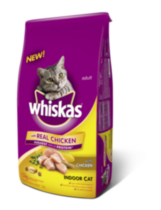 Whiskas Dry Indoor Food for Cat 3kg 1.5kg
