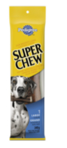 Pedigree Super Chew Large Dogs 340g