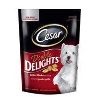 CESAR DOUBLE DELIGHT TREATS: GRILLED CHICKEN FLAVOUR