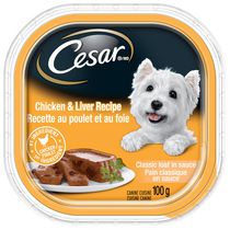 Cesar Entrées with Chicken and Liver Food for Small Dogs