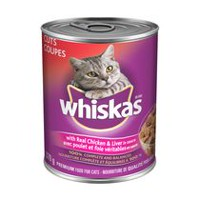 Whiskas Cuts with real Chicken & Liver in sauce 370g