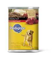 Pedigree Meaty Loaf with Real Beef 630g