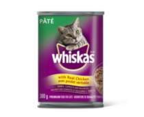Whiskas Cat Food Pâté with Real Chicken