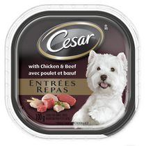 Cesar Entrées Chicken and Beef Food for Small Dogs