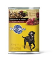 Pedigree Choice Cuts in Sauce With Beef & Liver 630g