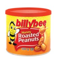 Billy Bee Honey Roasted Peanuts