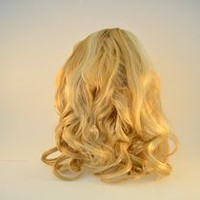 Fashion Hair Long wavy Jaw Comb Light Blonde