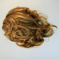 Fashion Hair Medium Jaw Comb Light Blonde