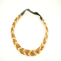 Fashion Hair Braided Hair Band Caramel Blonde