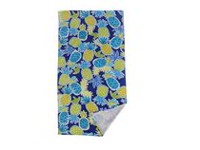 Mainstays Blue Pineapple Printed Beach Towel