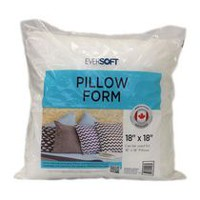 "Eversoft 18"" Pillow Form"
