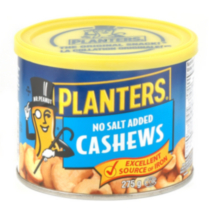 Planters No Salt Added Cashews