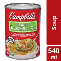 Campbell's Ready to Serve Chicken with Rice Soup