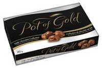 Chocolats Pot of Gold de la collection de chocolats au lait