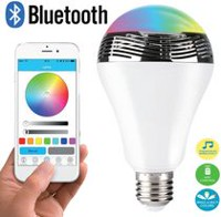 Haut-Parleur Intelligent Bluetooth/Ampoule LED de Proscan