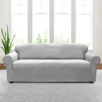 Sure Fit Annex Stretch Sofa Slipcover Slate