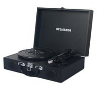 Sylvania Portable USB Encoding Turntable